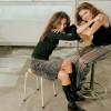 Tamara Hoekwater en Birgit Ingen Housz, Volumia! Fotoshoot 2001