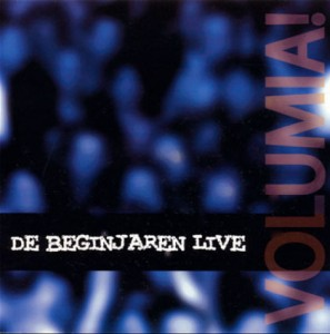 Volumia! De beginjaren Live cd-cover