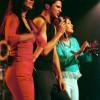 Birgit, Xander en Tamara, Heerlen 15-2-2000