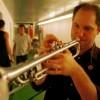 Eric van Oppen, Volumia! backstage in Rotterdam Luxor 15-11-2001