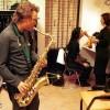 Harold en Birgit backstage in Roermond 8-2-2000