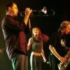 Eric, Tamara en Harold, Volumia! in Venray 20-10-2001