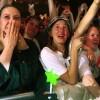Volumia! in HMH Amsterdam, Heftige emoties bij het laatste nummer van Volumia! tijdens het laatste concert in de HMH, 18-4-2002
