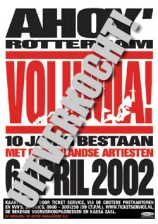 Volumia! AHOY' uitverkocht poster