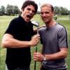 Xander met Dennis Bergkamp